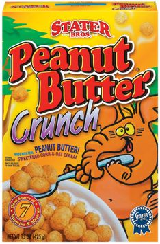 Stater bros Peanut Butter Crunch Cereal