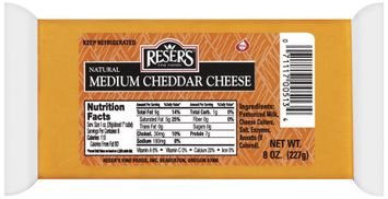 Reser's Fine Foods Natural Medium Cheddar Cheese