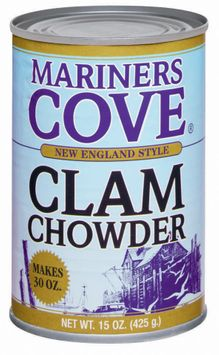 Mariners Cove New England Style Clam Chowder
