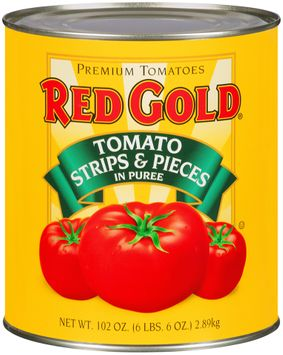 Red Gold® Tomato Strips & Pieces in Puree