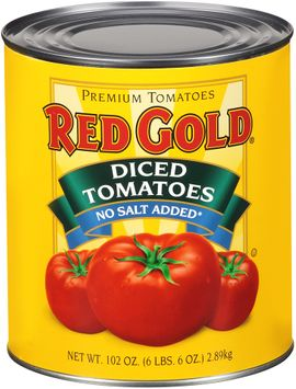 red gold® no salt added diced tomatoes