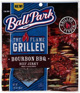 Ball Park® The Flame Grilled Bourbon BBQ Beef Jerky
