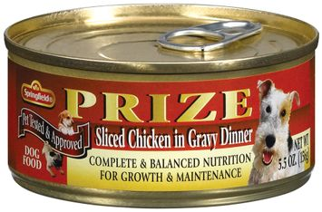 Springfield Prize Sliced Chicken in Gravy Dinner Dog Food