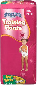 Stater bros® Training Pants for Girls 4tt 38+ lbs 42 ct