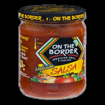 On The Border Salsa Medium