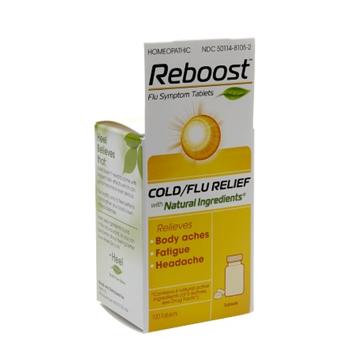 Reboost Cold/Flu Relief Tablets, 100 ea
