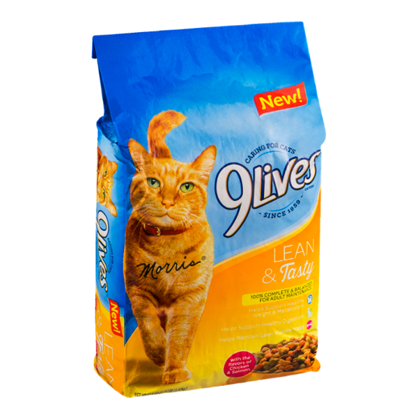 9Lives Adult Cat Food Lean & Tasty Chicken & Salmon