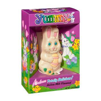 Palmer Yummy Hollow White Chocolate Bunny