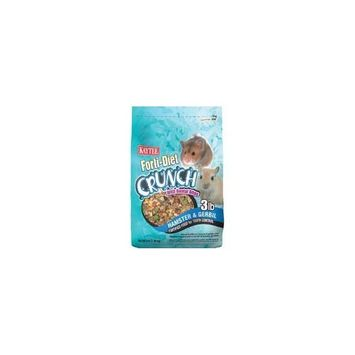 Kaytee Forti-Diet Crunch Hamster and Gerbil Food, 3-Pound