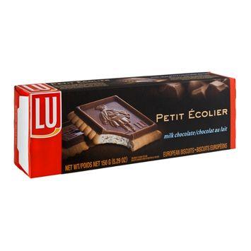 LU Petite Ecolier Milk Chocolate European Biscuits