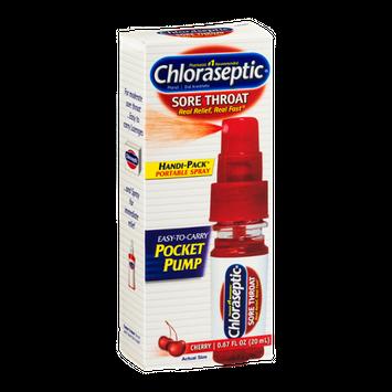 Chloraseptic Sore Throat Portable Spray Cherry