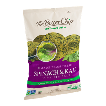 The Better Chip Spinach & Kale with Sea Salt Corn Chips