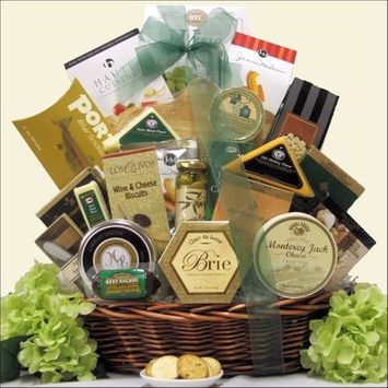 Greatarrivals Gift Baskets Lasting Impressions: Gourmet Cheese Gift Basket