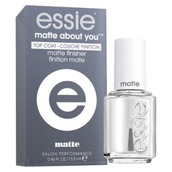 essie nail color essie matte about you Top Coat matte finisher - 0 46 oz
