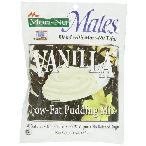 Mori Nu Mori-Nu Mates Pudding Mix, Vanilla, 4 Ounce (Pack of 12)