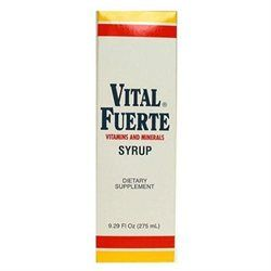 Vital Fuerte Vitamins And Minerals Syrup 9.29 Fluid Ounce - FARMAMEDICA S.A.