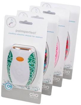 Clio Designs Palmperfect Electric Shaver in Patterns