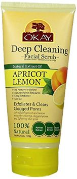 Okay Apricot and Lemon Facial Scrub