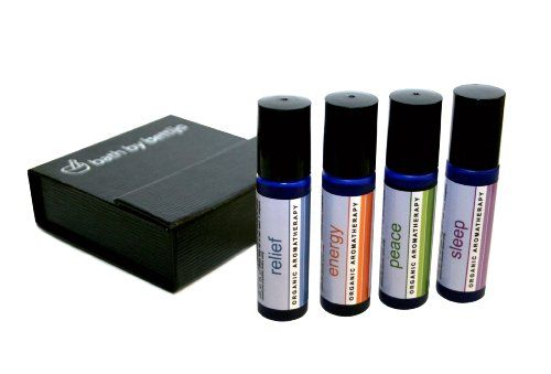 Bath By Bettijo Organic Aromatherapy Gift Set