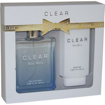 Intercity Beauty Company Clear Blu Men Men Giftset (Eau De Toilette Spray