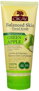 Okay Green Apple Facial Scrub