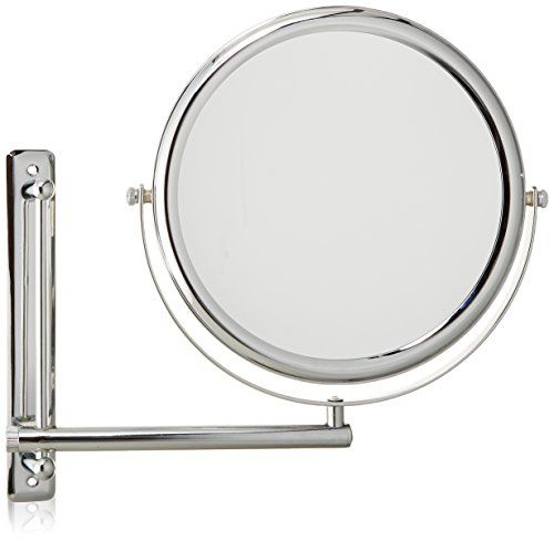 Jerdon JP3030CF 9-Inch Wall Mount Makeup Mirror with 3x Magnification