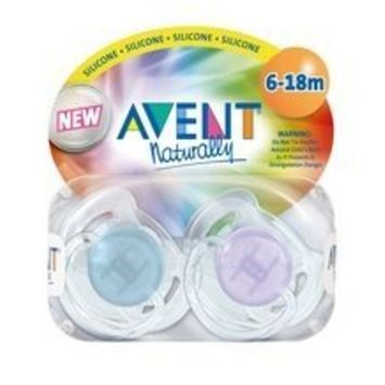 Philips Avent Pacifier Translucent Toddler S 6-18mo