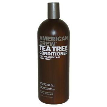 American Crew Tea Tree Conditioner, 33.8 Ounce