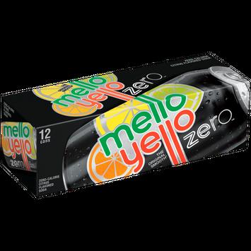 Mello Yello Zero Citrus 12 Oz Soda 12 Pk
