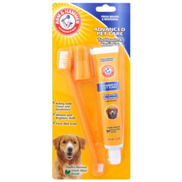 ARM & HAMMER™ Advanced Pet Care Dog Toothpaste & Brush Set