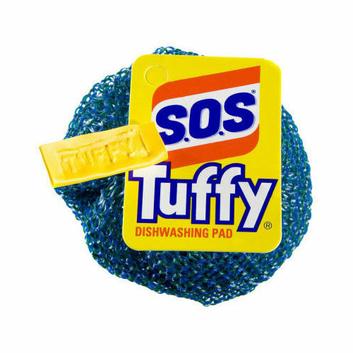 S.O.S Tuffy Nylon Dishwashing Scouring Pads