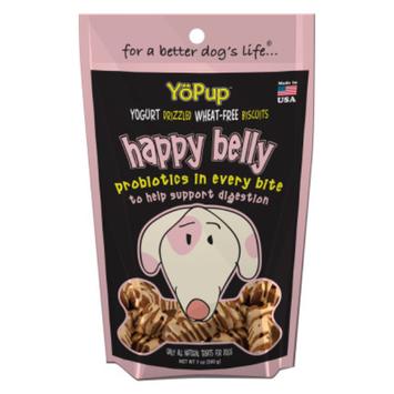 YoPup Happy Belly Probiotic Blend Dog Treat