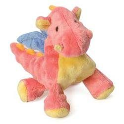 Sherpa Pet Go Dog Toys Baby Dragon Mini W/Chewguard - Coral