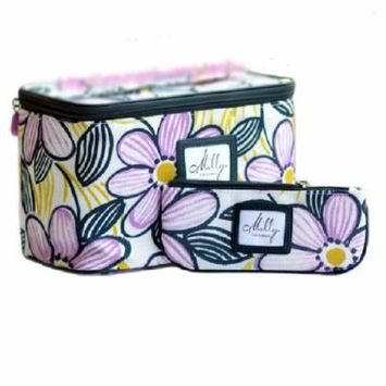 Clinique Deluxe Cosmetic Makeup Bag Duo