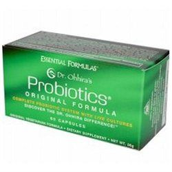 Essential Formulas Dr Ohhira's Probiotics Original Formula - 60 Capsules