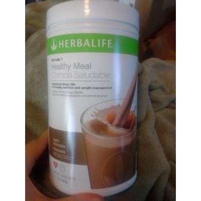 Formula 1 Healthy Meal Nutritional Shake Mix - Dutch Chocolate, 550 g canister