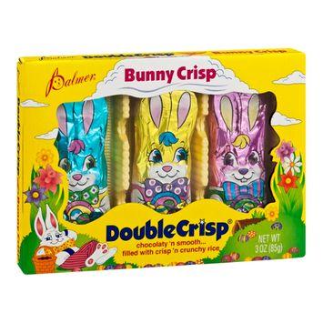 Palmer Double Crisp Bunny Crisp Chocolate - 3 CT