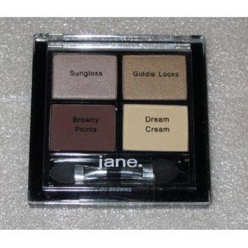 Jane Eye Zing Carry Along Quad Eyeshadow 02 Browns