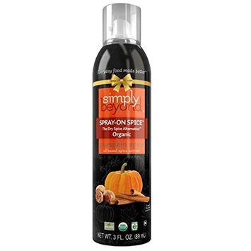 simply beyond® Organic Spray On Spice Pumpkin Pie