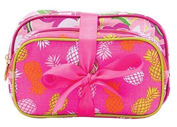 Danielle Enterprises Macbeth Pina Colada 2 Piece Cosmetic Bag Set