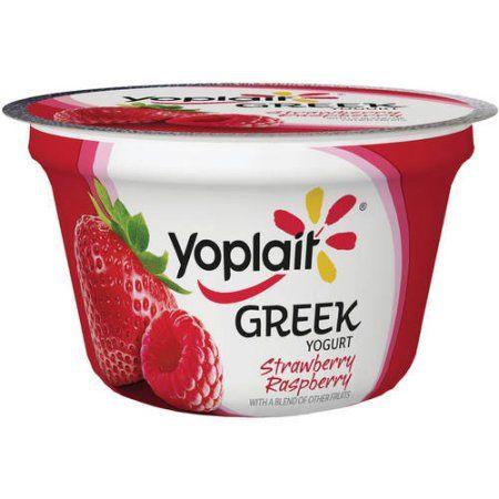 Yoplait® Greek Blended Strawberry Raspberry Fat Free Yogurt