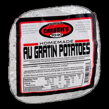 Carson's To Go Homemade Au Gratin Potatoes