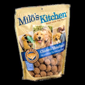 Milo's Kitchen Home-Style Dog Treats Chicken Meatballs