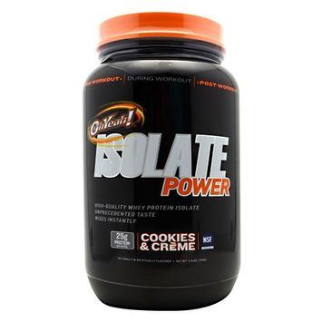 ISS, Isolate Powder Cookies & Creme 2 lbs