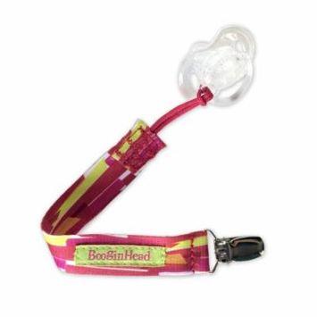 Booginhead PaciGrip Pacifier Holder - Pink Betty
