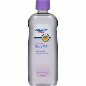 Equate Lavender Baby Oil, 14 fl oz