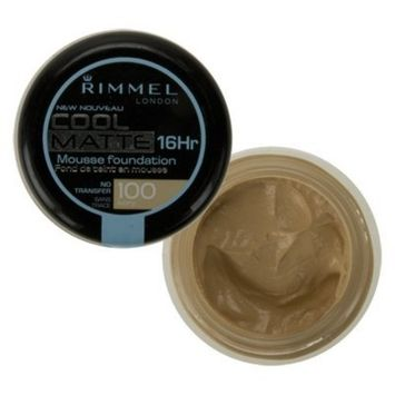Rimmel London Cool Matte 16 Hour Mousse Foundation Ivory