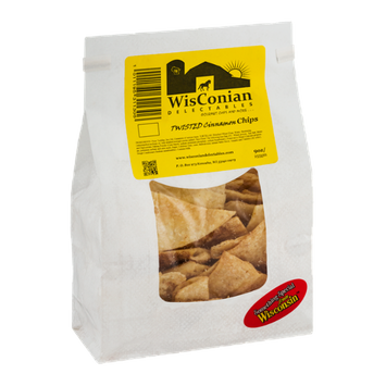 WisConian Delectables Twisted Cinnamon Chips