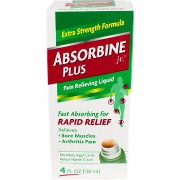 Absorbine Jr. Plus Extra Strength Pain Relieving Liquid, 4 fl oz