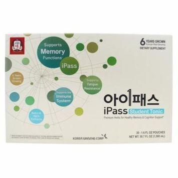 Korean Ginseng - iPass Student Tonic - 30 Pouches